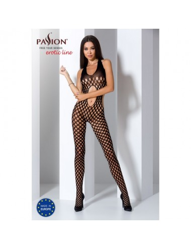Lingerie - Combinaisons - BS065 Bodystocking - Noir - Passion