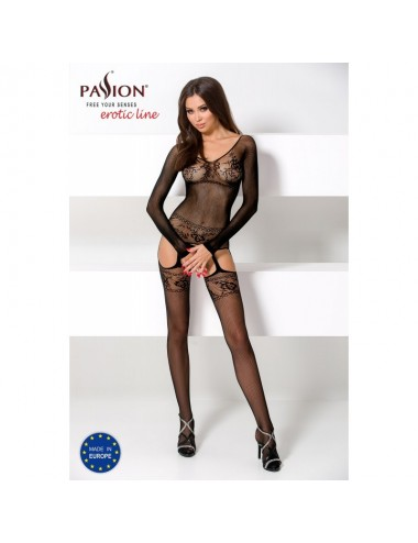 Lingerie - Combinaisons - BS055 Bodystocking - Noir - Passion