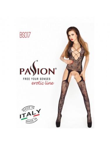 Lingerie - Combinaisons - BS017 Bodystocking - Noir - Passion