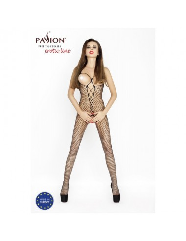BS014 Bodystocking - Noir