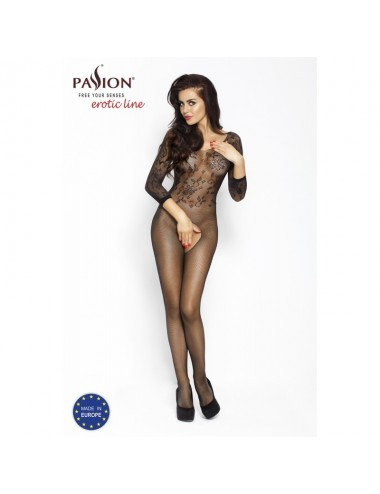BS007 Bodystocking - Noir