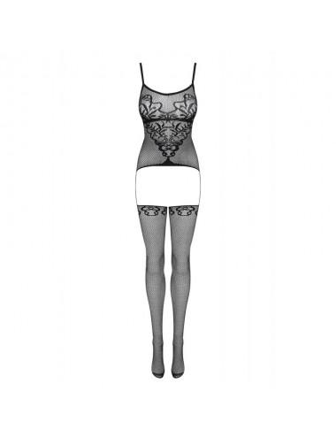 Lingerie - Combinaisons - F230 Bodystocking - Noir - Obsessive