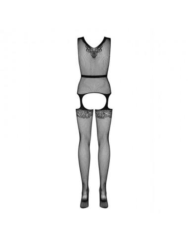 Lingerie - Combinaisons - F217 Bodystocking - Noir - Obsessive