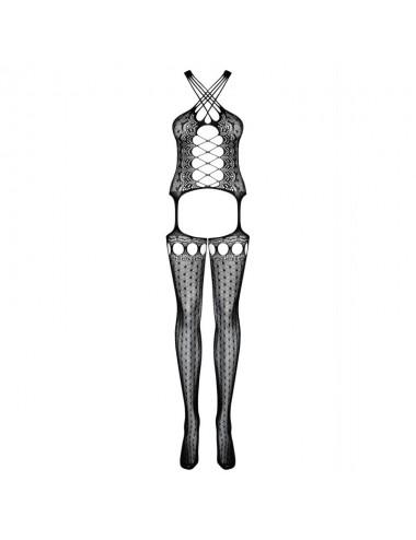 Lingerie - Combinaisons - G313 Bodystocking - Noir - Obsessive