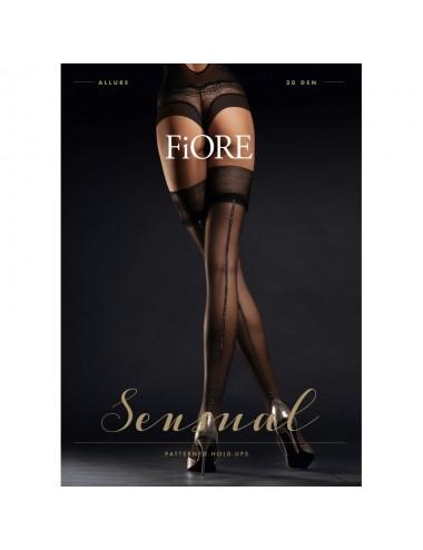 Lingerie - Bas - Allure Bas 20 DEN - Noir - Fiore