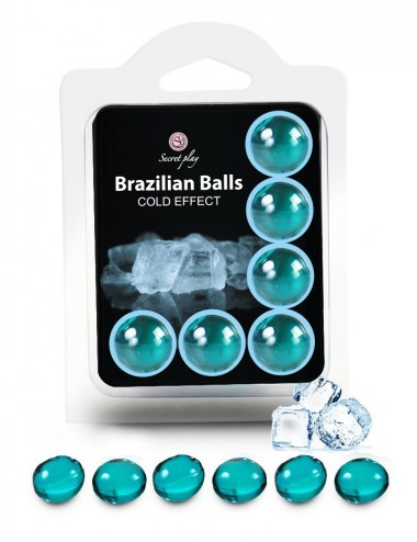 6 Brazilian Balls Cold effect 3613-1 - Huiles de massage - Brazilian Balls