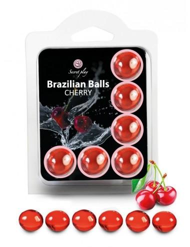 6 Brazilian Balls Cerise 3386-6 - Huiles de massage - Brazilian Balls