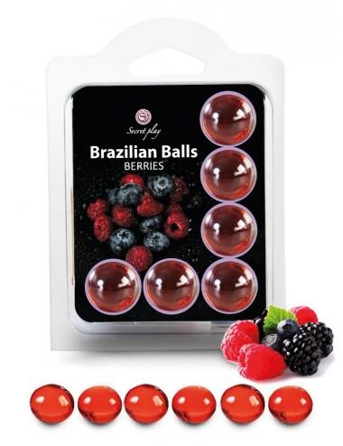 6 Brazilian Balls Fruits des bois 3386-5 - Huiles de massage - Brazilian Balls