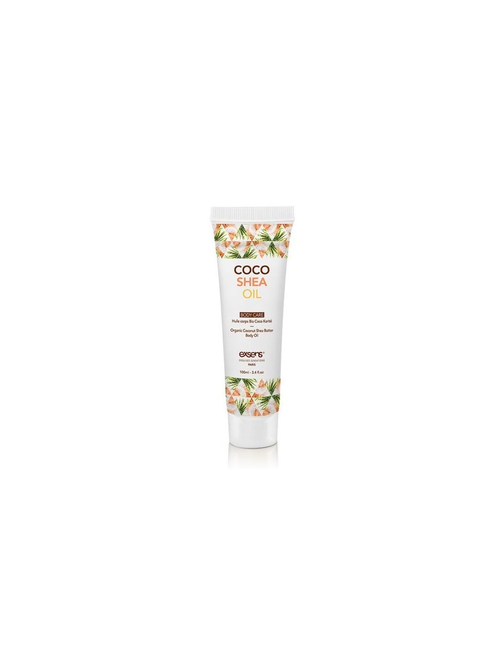 Huile pour hydraté le corps Bio Coco Karité 100 ml - Huiles de massage - Exsens