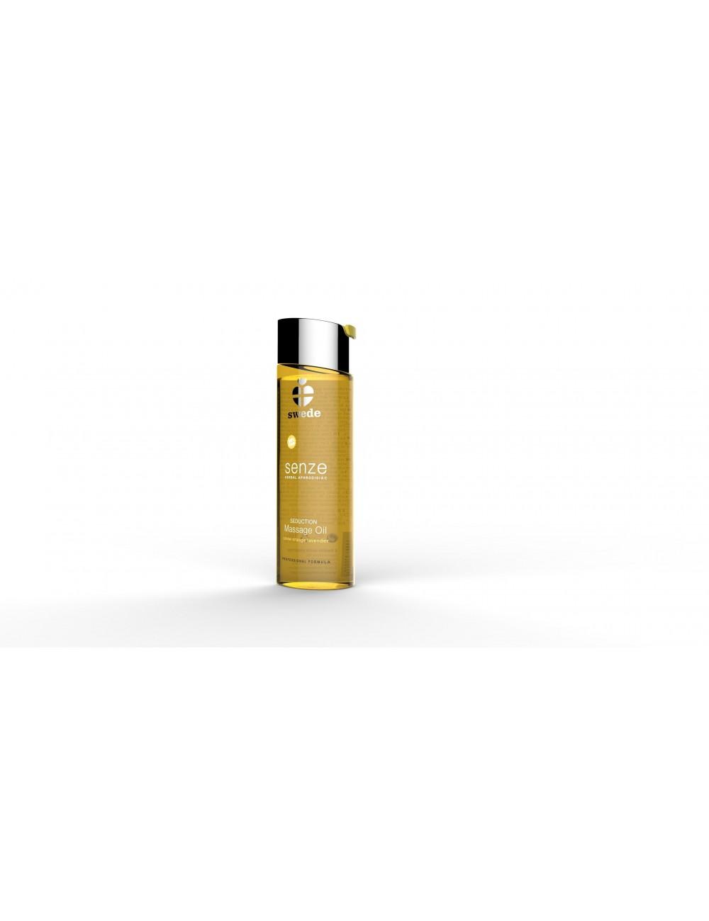 Huile de massage extraits naturels orange Douce Senze Seduction 75 ML - Huiles de massage - Swede