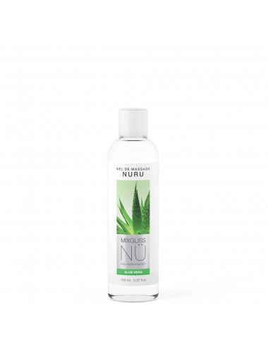 Mixgliss Gel de massage - NU Aloe Vera 150 ml - Huiles de massage - Mixgliss