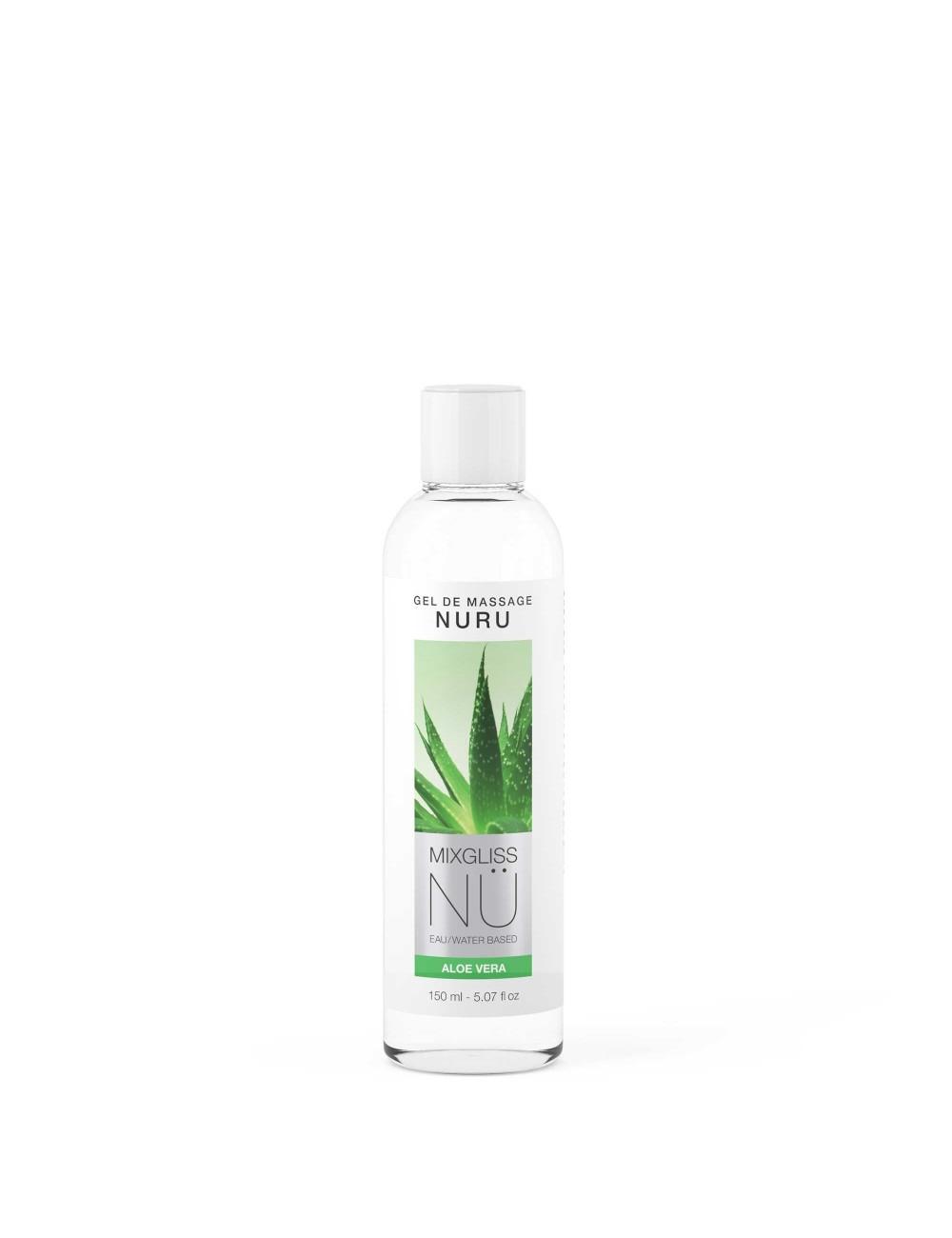 Mixgliss Gel de massage - NU Aloe Vera 150 ml - Huiles de massage - Mixgliss