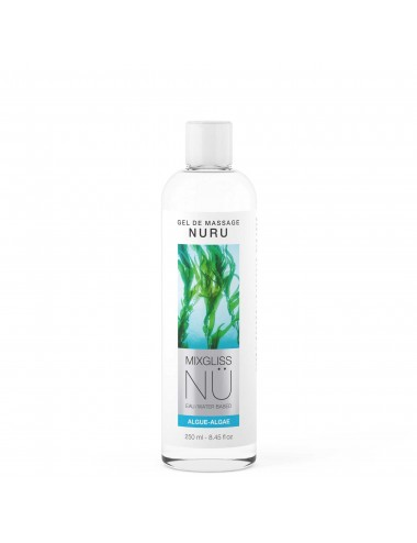 Mixgliss Gel de massage - NU Algue 250 ml - Huiles de massage - Mixgliss