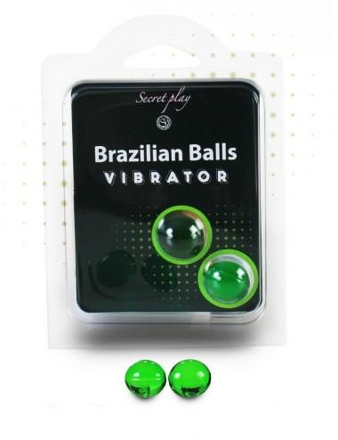 Duo Brazilian Balls Vibrator 3591 - Huiles de massage - Brazilian Balls