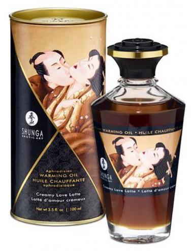Huile chauffante aphrodisiaque - Latte d'amour 100ml - Huiles de massage - Shunga