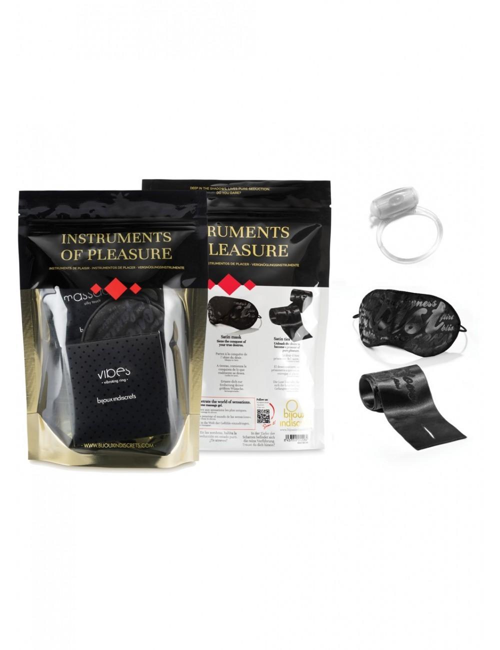 Coffret Kit Instruments of Pleasure - BI-3442 - Huiles de massage - Bijoux Indiscrets