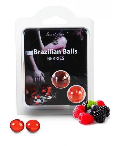 Duo Brazilian Balls Fruit des bois 3385-5 - Huiles de massage - Brazilian Balls