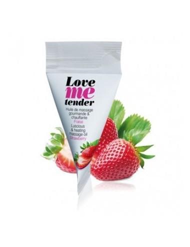 BERLINGOT LOVE ME TENDER FRAISE 10ML - Huiles de massage - Love to Love