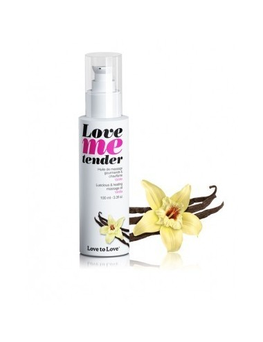 Love Me Tender Vanille 100ML - Huiles de massage - Love to Love