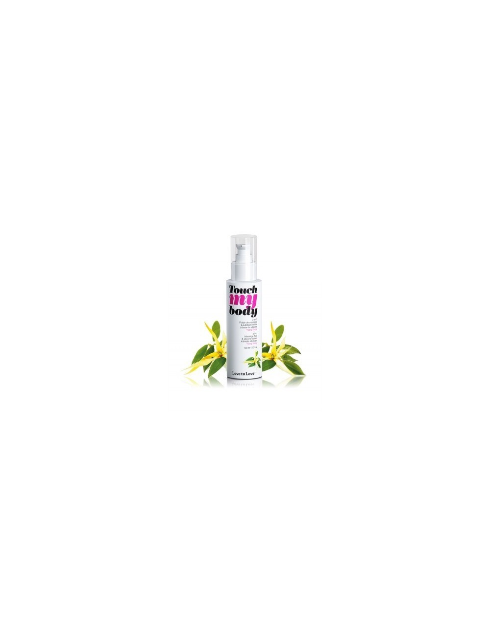 Touch My Body Ylang Ylang 100ML - Huiles de massage - Love to Love