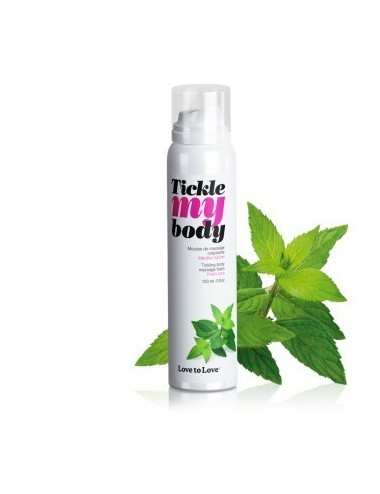 Tickle My Body Menthe - 150ML - Huiles de massage - Love to Love