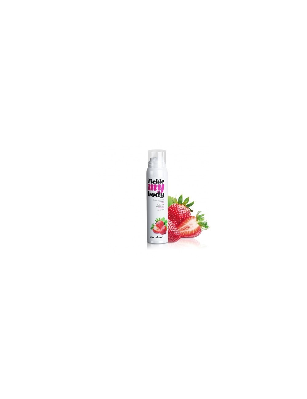 Tickle My Body Fraise - 150ML - Huiles de massage - Love to Love