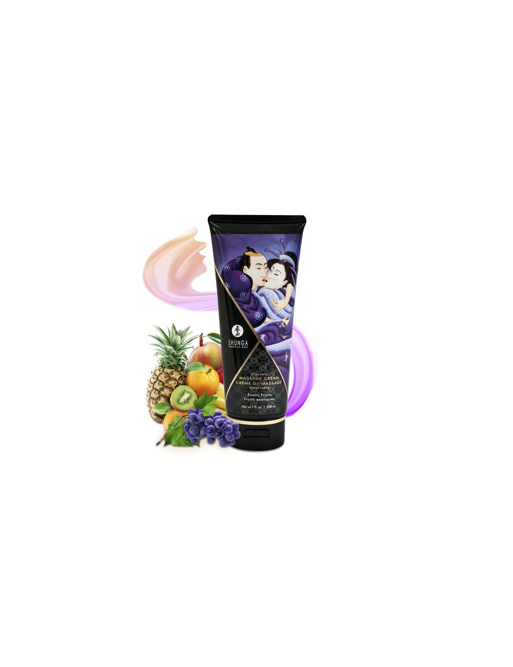 Crème de Massage délectable - Fruits exotiques - Huiles de massage - Shunga