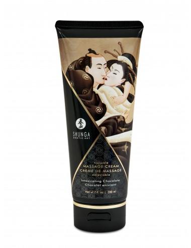 Crème de Massage délectable - Chocolat enivrant - Huiles de massage - Shunga