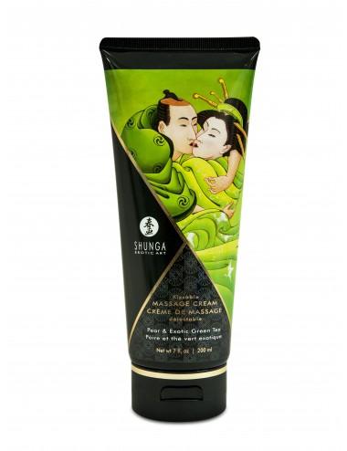 Crème de Massage délectable - Poire Thé vert exotique - Huiles de massage - Shunga