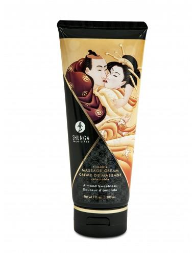 Crème de Massage delectable - Douceur d'amande - Huiles de massage - Shunga
