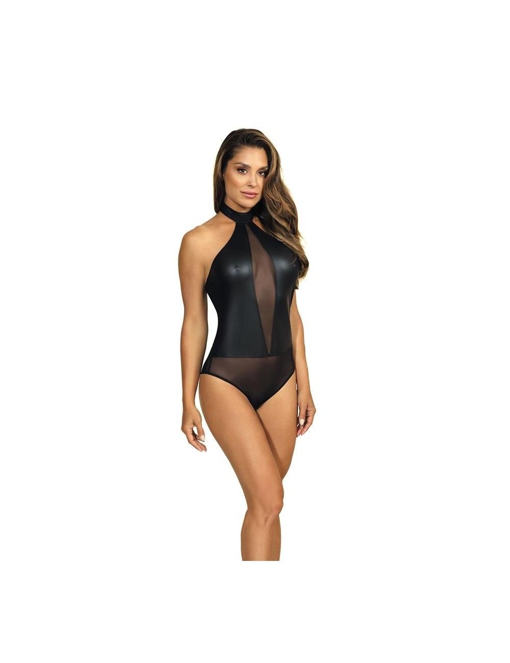Lingerie - Bodys - V-9150 Body - Noir - Axami
