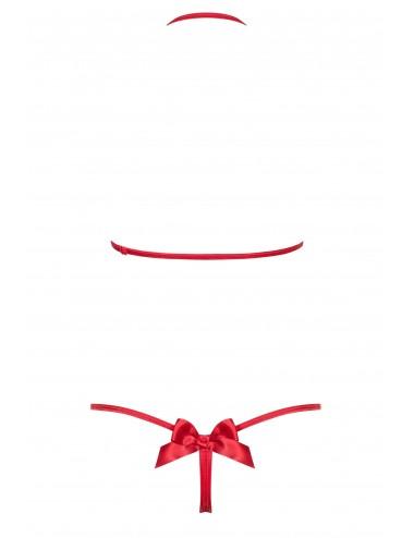 Lingerie - Bodys - Giftella Body - Rouge - Obsessive