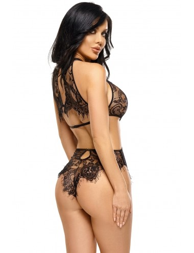 Lingerie - Bodys - Jordana body - Noir - Beauty Night