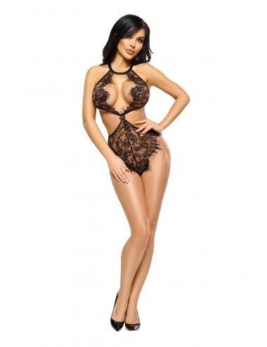Lingerie - Bodys - Jordana body - Noir - Beauty Night