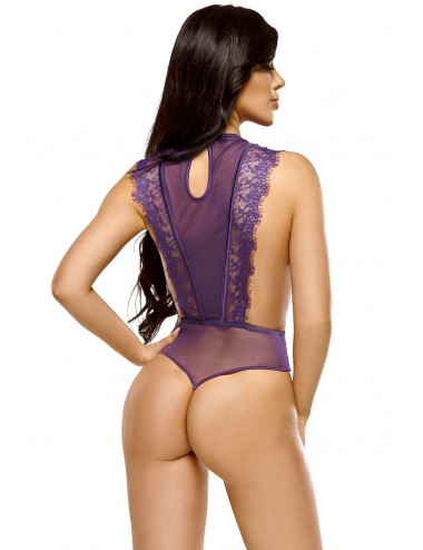 Lingerie - Bodys - Emiliana body - Violet - Beauty Night
