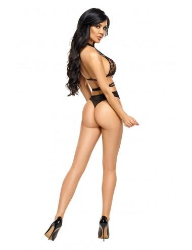 Lingerie - Bodys - Body Aliyah Noir - Obsessive - BN-5030 - Beauty Night
