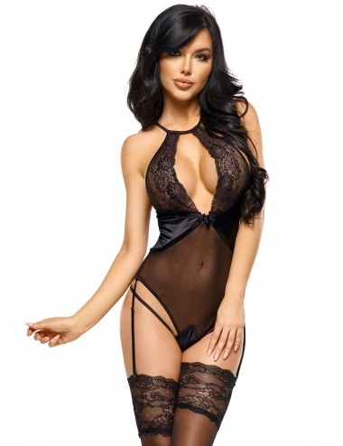 Lingerie - Bodys - Laurienne body - Noir - Beauty Night