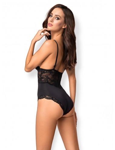 Lingerie - Bodys - 810-TED-1 Body - Noir - Obsessive