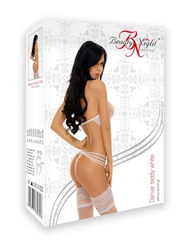 Lingerie - Bodys - Denver Body - Blanc - Beauty Night