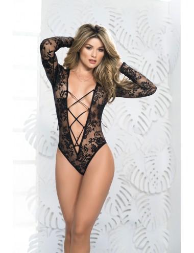 Lingerie - Bodys - Body Style 7172 - Noir - Mapalé