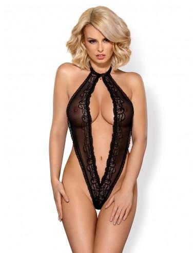 Lingerie - Bodys - 830-TED-1 Body - Noir - Obsessive