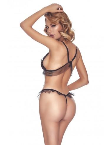 Lingerie - Bodys - Salmakis Body - Noir - Anaïs