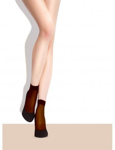 Lingerie - Bas - Chaussettes fine et confortables divers coloris 15 DEN Maja - Fiore