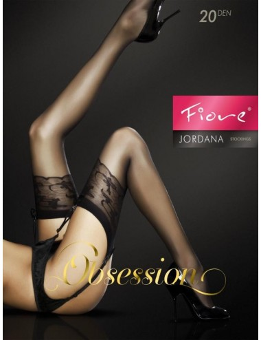 Lingerie - Bas - Jordana Bas 20 DEN - Noir - Fiore
