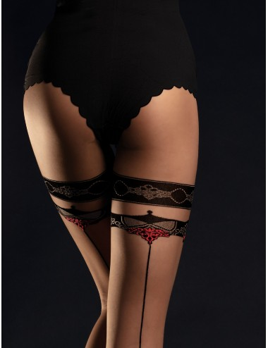 Lingerie - Collants - Taboo Collants 20 DEN - Noir - Fiore