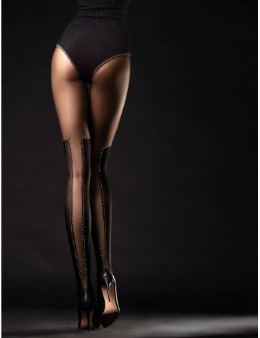 Lingerie - Collants - Poison Collants 40 DEN - Noir - Fiore