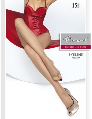 Lingerie - Collants - Eveline Collants 15 DEN - Noir - Fiore