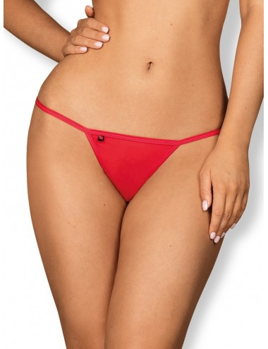 Lingerie - Boxers, strings, culottes - Giftella String - Rouge - Obsessive