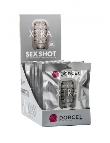 Sextoys - Pour lui - Mini Masturbateur Xtra Dorcel blanche avec 3 sensations disponibles - Dorcel