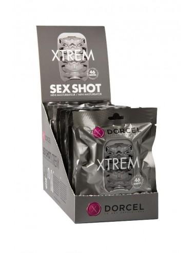Sextoys - Pour lui - Masturbateur Sex Shot Xtrem Dorcel couleur blanche - Dorcel
